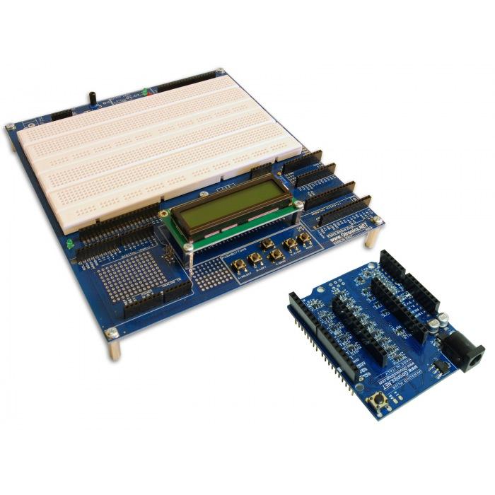 PROTOSHIELD Plus LCD KIT + MKR2UNO Plus Bundle