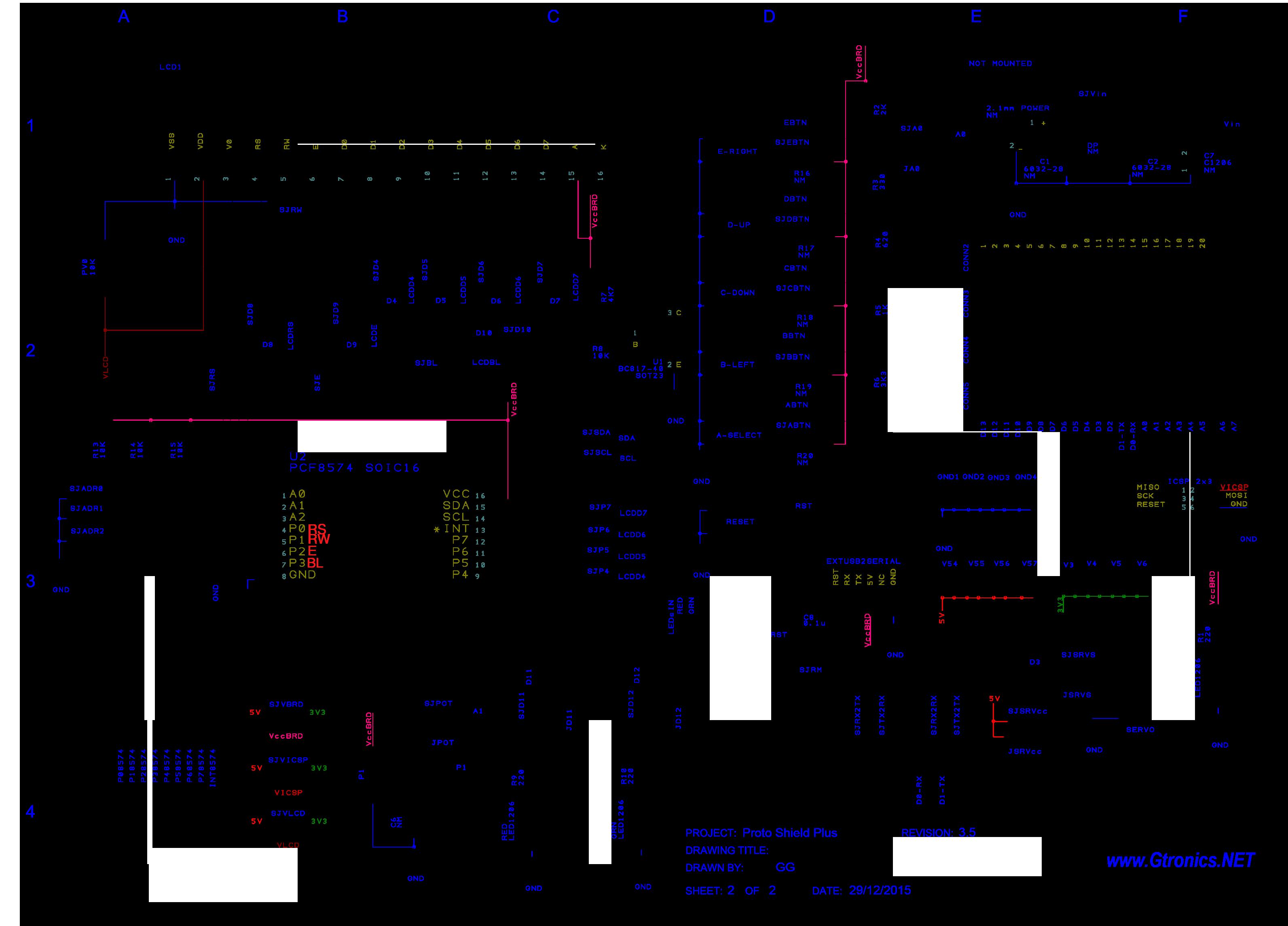 Proto Shield Plus Schematics