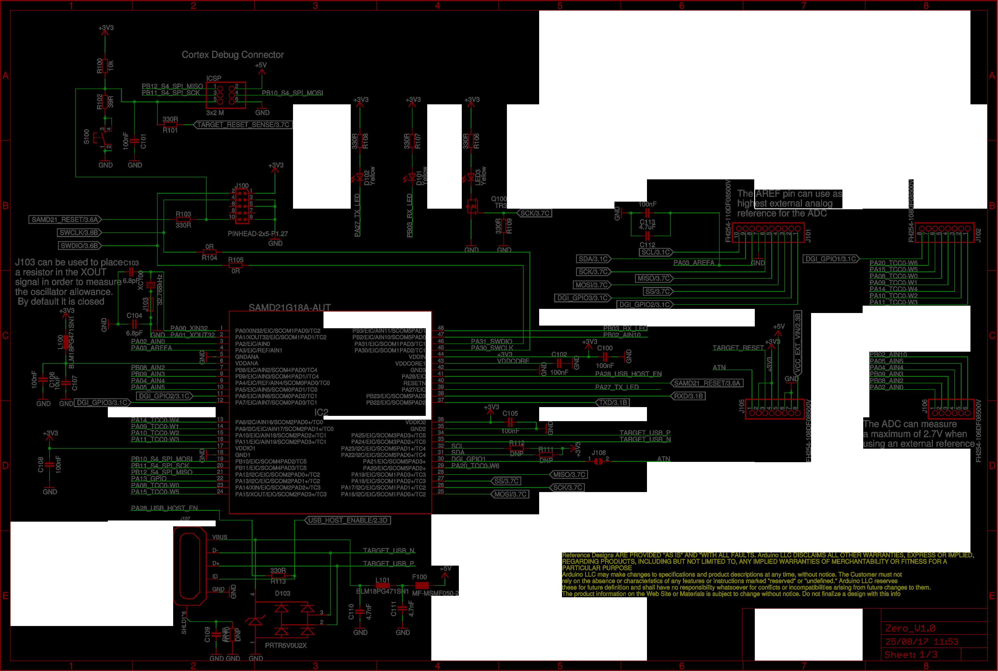 arduino layout diagram
