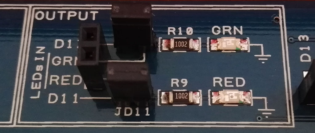 The Proto Shield Plus SD11 and SD12 closed