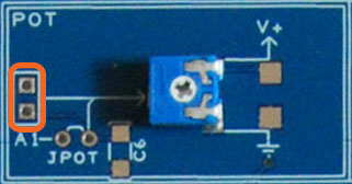The Proto Shield Plus Potentiometer pads