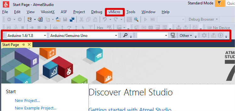 INSTALLING VISUAL MICRO for ATMEL STUDIO - GtronicsShop