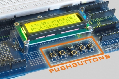 Using the Proto Shield Plus pushbuttons with analog input